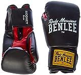 Benlee Rocky Marciano Rodney - Guante de boxeo (PVC), color negro/rojo,...