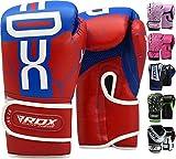 RDX Guantes de Boxeo Niño para Entrenamiento y Muay Thai   Maya Hide Cuero...