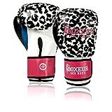 BOXEUR DES RUES Fight Activewear Guantes de Boxeo Rosa White/Fucsia Talla:8...